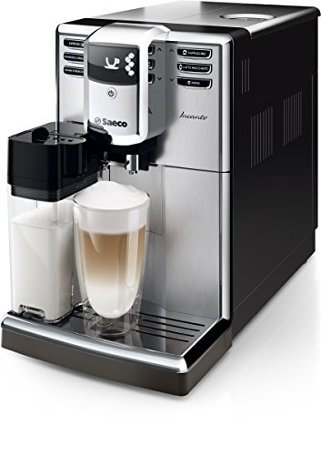 saeco hd8917 01 incanto kaffeevollautomat 1850 watt aquaclean integrierte milchkaraffe silber - Saeco HD8917/01 Incanto Kaffeevollautomat (1850 Watt, AquaClean, integrierte Milchkaraffe) silber