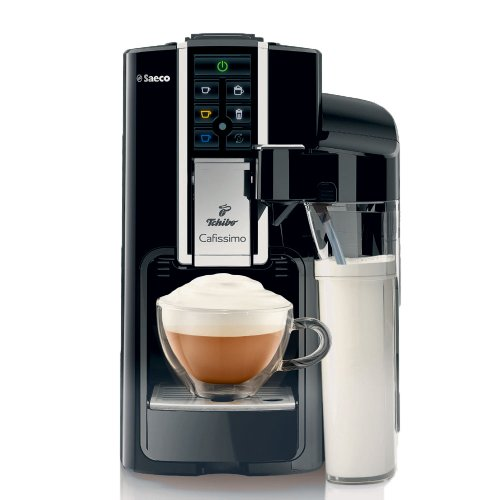 tchibo saeco cafissimo latte kapselmaschine fuer kaffee espressocaffe cremalatte macchiatocappuccino oder teeschwarz - Tchibo Saeco Cafissimo Latte Kapselmaschine (für Kaffee, Espresso,Caffé Crema,Latte Macchiato,Cappuccino oder Tee),schwarz