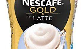NESCAFE GOLD Typ Latte loeslicher Bohnenkaffee aus erlesenen Kaffeebohnen koffeinhaltig 283x165 - NESCAFÉ GOLD Typ Latte, löslicher Bohnenkaffee aus erlesenen Kaffeebohnen, koffeinhaltig, mit extra viel Schaum, Menge: 1er Pack (1 x 250 g)