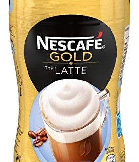 NESCAFE GOLD Typ Latte loeslicher Bohnenkaffee aus erlesenen Kaffeebohnen koffeinhaltig 283x330 - NESCAFÉ GOLD Typ Latte, löslicher Bohnenkaffee aus erlesenen Kaffeebohnen, koffeinhaltig, mit extra viel Schaum, Menge: 1er Pack (1 x 250 g)